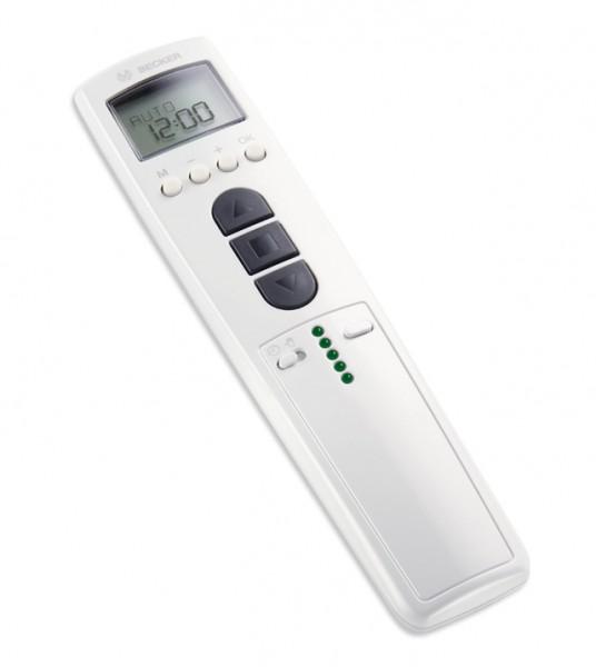 Becker TimeControl TC445-II 5-Kanal Handsender mit kanalbezogenen. Weiß Zeitschaltuhren