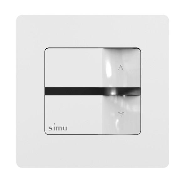 SIMU Funk Hz Wandsender 1 Kanal passend auch für Funk RTS Motoren