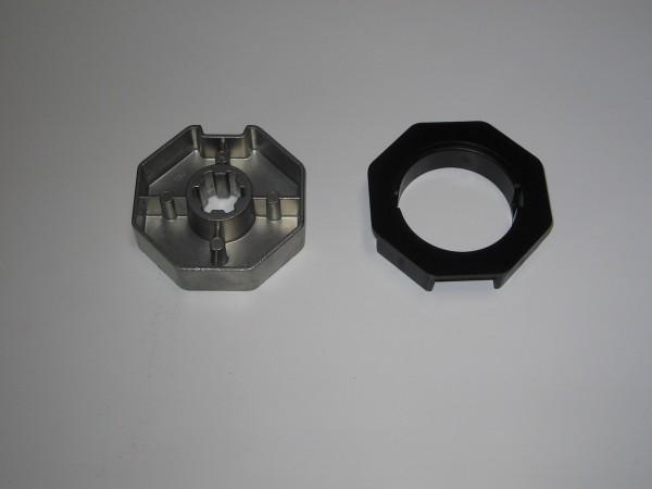 Selve Adapter+Mitnehmer SW 70mm für SEL+ Motore