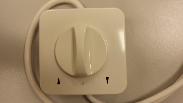 Drehschalter UP-AP-Komplettset 230 Volt