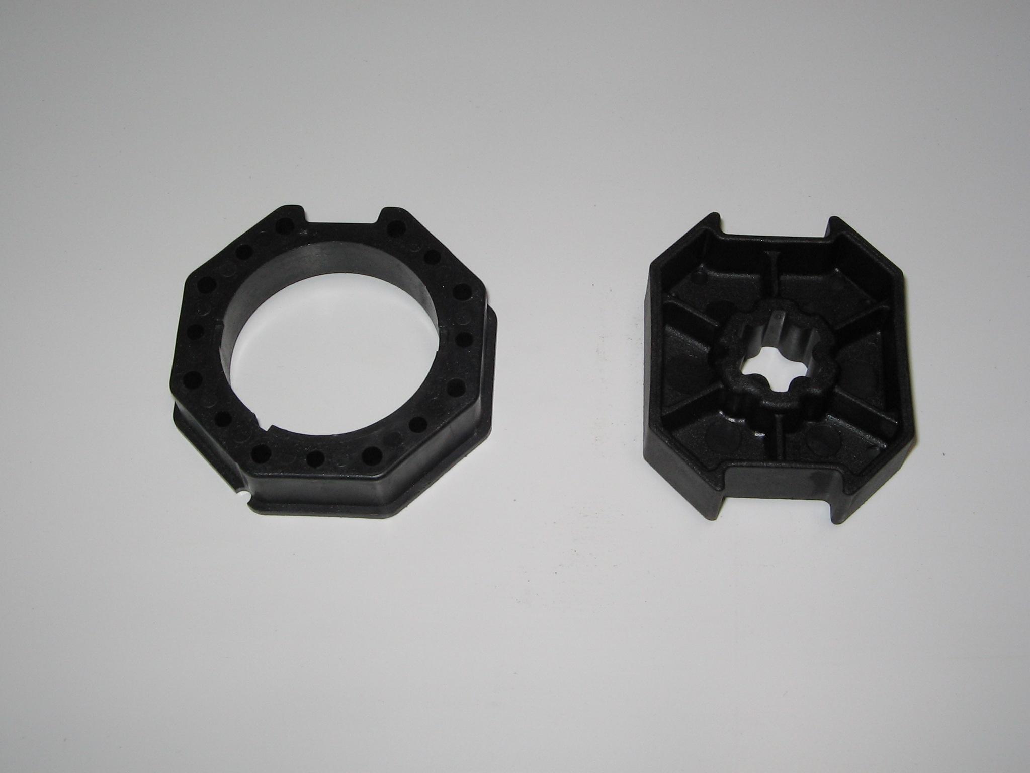 Becker Adapter+Mitnehmer SW 70mm für E03 Motore